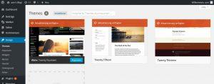 Die Verwaltung der Themes im WordPress-Backend